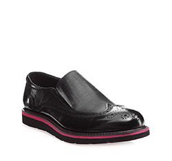 Buty męskie, czarny, 85-M-911-1-43, Zdjęcie 1
