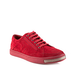 Men's shoes, red, 85-M-912-2-44, Photo 1