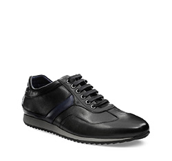 Men's shoes, black, 85-M-915-1-41, Photo 1