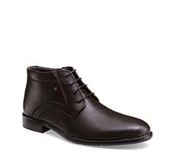 Men's shoes, brown, 85-M-918-4-40, Photo 1