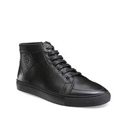Men's shoes, black, 85-M-919-1-45, Photo 1
