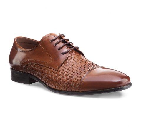 Buty męskie, Brązowy, 85-M-922-5-39, Zdjęcie 1