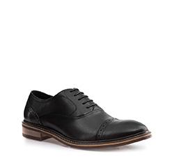 Buty męskie, czarno - brązowy, 85-M-924-8-44, Zdjęcie 1