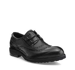 Men's shoes, black, 85-M-926-1-44, Photo 1