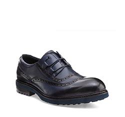 Men's shoes, navy blue, 85-M-926-7-41, Photo 1