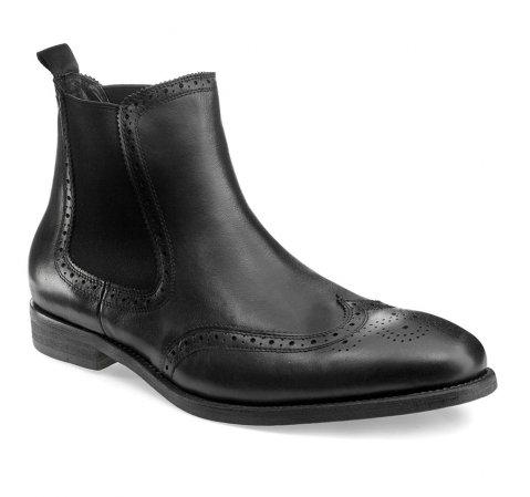 Buty męskie, czarny, 85-M-928-1-39, Zdjęcie 1