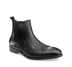Buty męskie, czarny, 85-M-928-1-43, Zdjęcie 1