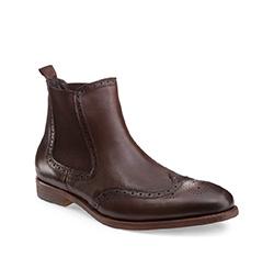Buty męskie, brązowy, 85-M-928-4-41, Zdjęcie 1