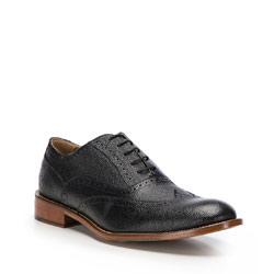 Men's shoes, black, 86-M-053-1-40, Photo 1