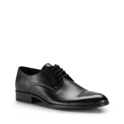 Men's shoes, black, 86-M-603-1-41, Photo 1