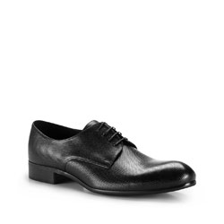 Men's shoes, black, 86-M-604-1-39, Photo 1