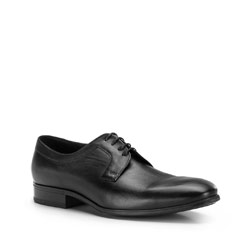 Men's shoes, black, 86-M-605-1-44, Photo 1