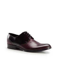 Buty męskie, bordowo - czarny, 86-M-606-2-45, Zdjęcie 1