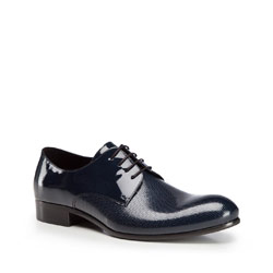 Men's shoes, navy blue, 86-M-607-7-41, Photo 1