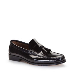 Men's shoes, black, 86-M-650-1-45, Photo 1