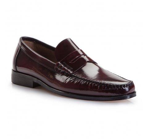 Buty męskie, bordowy, 86-M-651-2-40, Zdjęcie 1