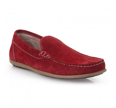 Men's shoes, red, 86-M-653-3-45, Photo 1