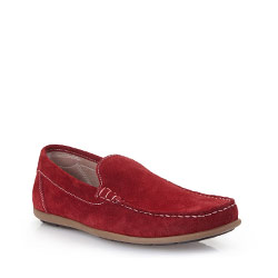Men's shoes, red, 86-M-653-3-41, Photo 1