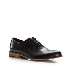 Buty męskie, czarny, 86-M-800-1-45, Zdjęcie 1