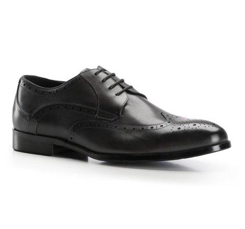 Buty męskie, czarny, 86-M-802-1-44, Zdjęcie 1
