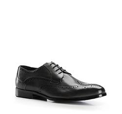 Buty męskie, czarny, 86-M-802-1-43, Zdjęcie 1