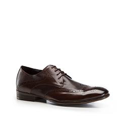Туфли мужские  Wittchen 86-M-803-4, темно-коричневый 86-M-803-4