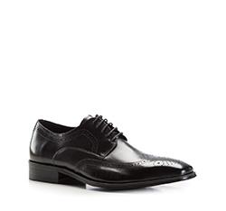 Buty męskie, czarny, 86-M-804-1-45, Zdjęcie 1
