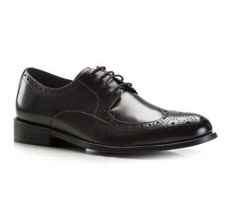 Buty męskie, czarny, 86-M-805-1-45, Zdjęcie 1