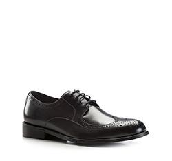 Buty męskie, czarny, 86-M-805-1-42, Zdjęcie 1