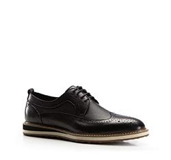 Men's shoes, black, 86-M-806-1-42, Photo 1