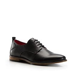 Men's shoes, black, 86-M-808-1-41, Photo 1