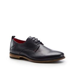 Men's shoes, navy blue, 86-M-808-7-45, Photo 1