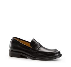 Men's shoes, black, 86-M-809-1-45, Photo 1