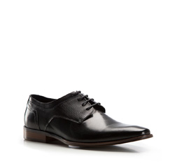 Buty męskie, czarny, 86-M-813-1-39, Zdjęcie 1