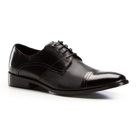 Buty męskie, czarny, 86-M-814-1-39, Zdjęcie 1