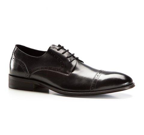 Buty męskie, czarny, 86-M-815-1-39, Zdjęcie 1