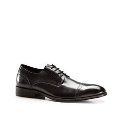 Buty męskie, czarny, 86-M-815-1-45, Zdjęcie 1