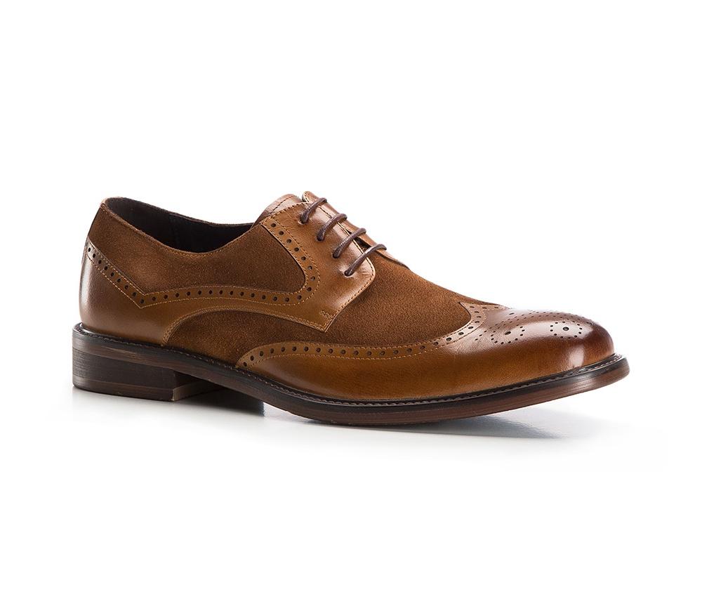 Туфли мужские  Wittchen 86-M-817-5, светло-коричневыйТуфли мужские  Wittchen 86-M-817-5, светло-коричневый<br><br>секс: мужчина<br>Цвет: коричневый<br>Размер EU: 39<br>материал:: Натуральная кожа<br>примерная высота каблука (см):: 3