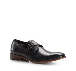 Men's shoes, navy blue, 86-M-818-7-43, Photo 1