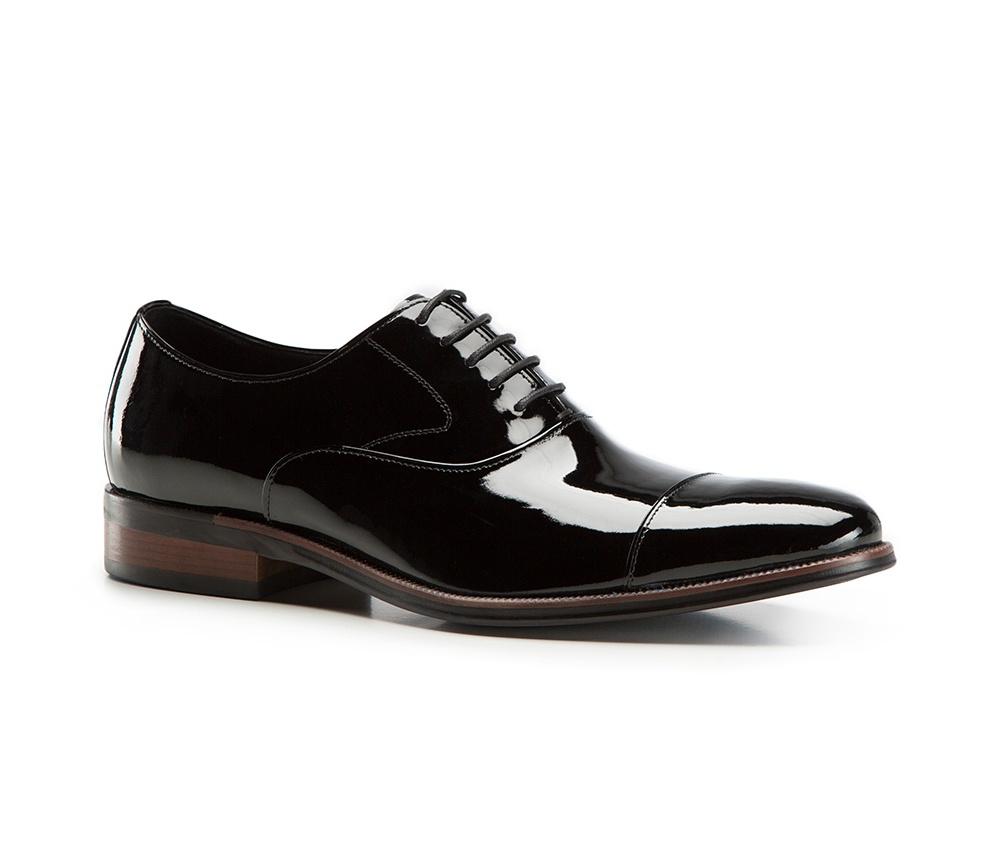5f39a0182d452 Eleganckie buty męskie ze skóry lakierowanej | WITTCHEN | 86-M-819