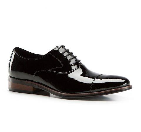 Buty męskie, czarny, 86-M-819-1-42, Zdjęcie 1