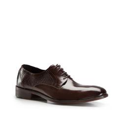 Туфли мужские  Wittchen 86-M-820-4, темно-коричневый 86-M-820-4