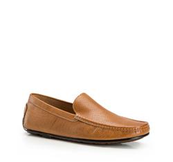 Men's shoes, light brown, 86-M-903-9-40, Photo 1