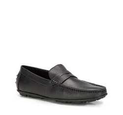Men's shoes, black, 86-M-908-1-42, Photo 1