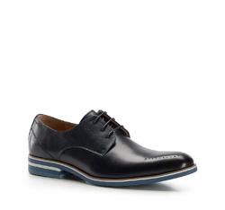 Men's shoes, navy blue, 86-M-915-7-39, Photo 1
