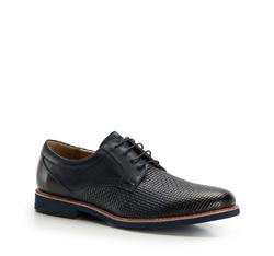 Men's shoes, navy blue, 86-M-917-7-42, Photo 1