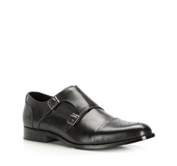 Men's shoes, black, 86-M-918-1-45, Photo 1