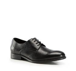 Buty męskie, czarny, 86-M-919-1-45, Zdjęcie 1