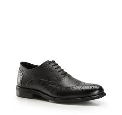 Buty męskie, czarny, 86-M-920-1-44, Zdjęcie 1