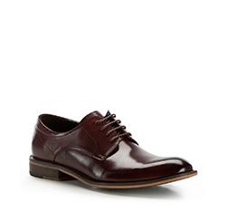 Buty męskie, wiśniowy, 86-M-923-2-40, Zdjęcie 1